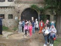 Пред Мъглижкия манастир