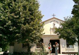 """Църквата """"Св. Великомъченик Георги"""" в манастира"""