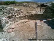 Олтарът, където са открити мощите на Кръстителя