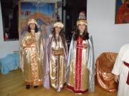 Тримата мъдреци поднасят дарове на Богомладенеца