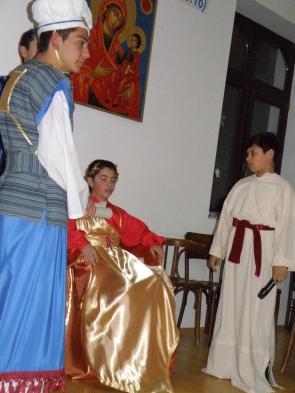 Първосвещеник и царедворец пред цар Ирод