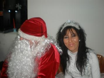 Дългоочакваните дядо Коледа и Снежанка