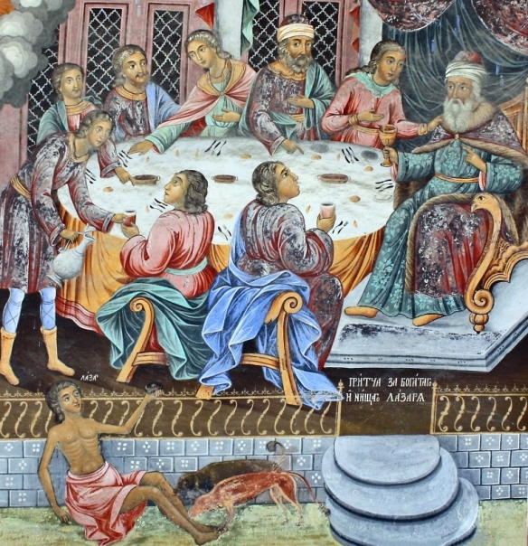 11 Всемирното Православие - В ПЕТАТА НЕДЕЛЯ СЛЕД НЕДЕЛЯ ПОДИР ВЪЗДВИЖЕНИЕ – ЗА БОГАТАША И СИРОМАХА