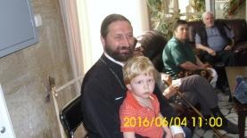 """Свещеникът при храм """"Свети Димитър"""""""