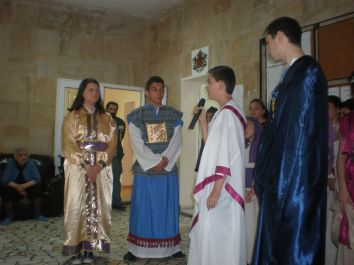 Сценка за съда на Пилат