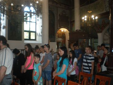 Молитва преди тръгване в нашия храм