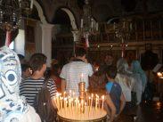 Отец Константин разказва историята на храма