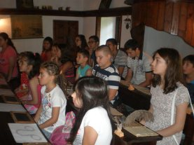 Кратка беседа за училището и прицърковните постройки