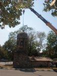 Демонтаж на стария купол