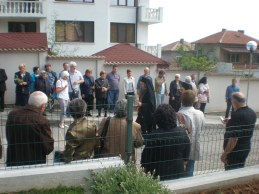 Посрещане на пловдивския митрополит Николай