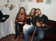 Красимира Генева с нейните талантливи ученици.
