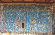 Дърво Иесеево - външен стенопис от Сучевица