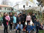 Игуменката на манастира е сред децата